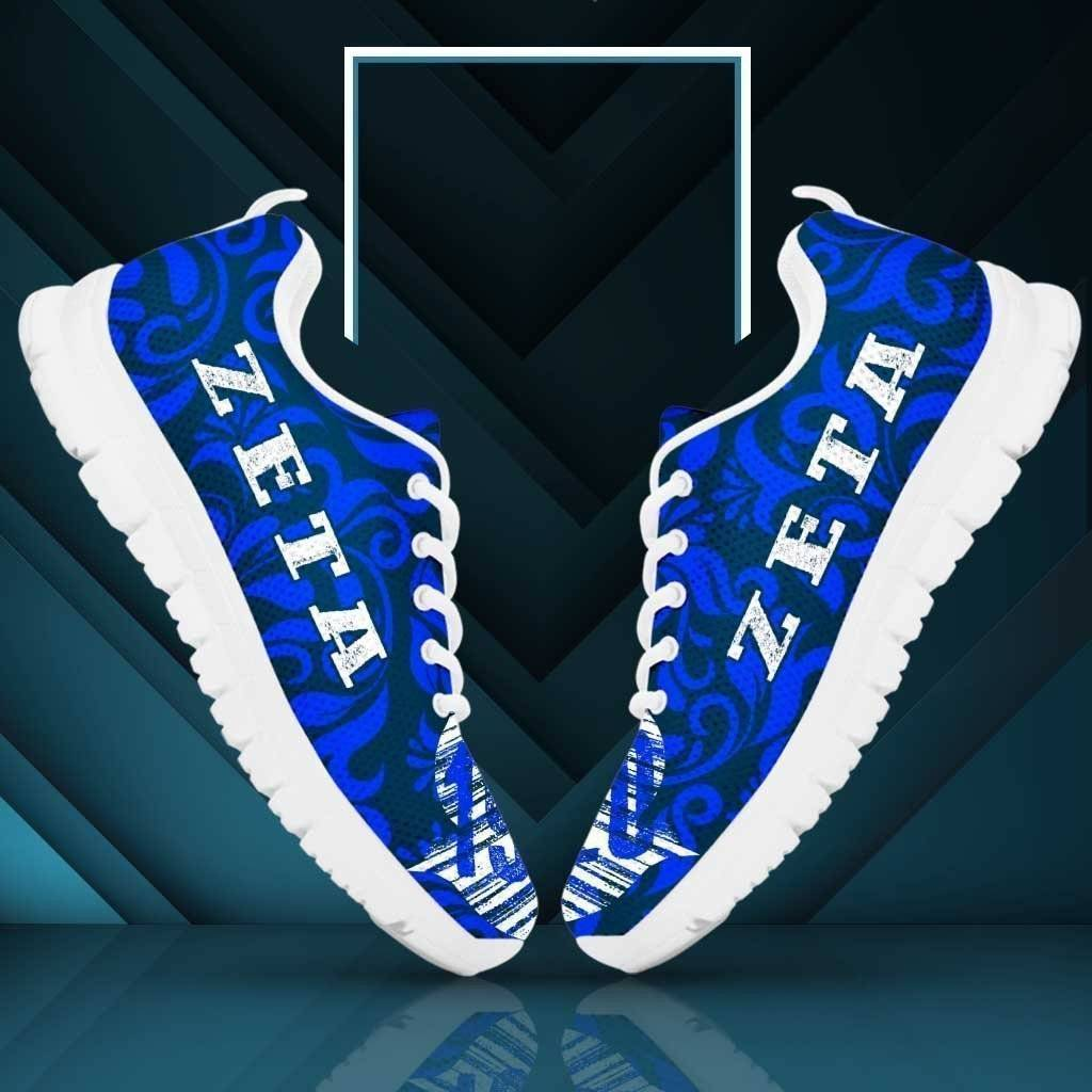 Zeta Phi Beta Sneakers - Unique Greek Store