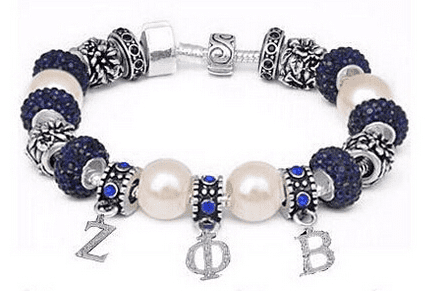 Zeta Phi Beta Bracelet - Unique Greek Store