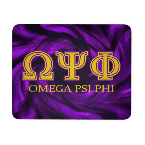 Omega Psi Phi Symbol Mousepad - Unique Greek Store