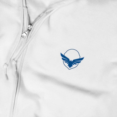 Image of Zeta Phi Beta Embroidery Zip Up Hoodie
