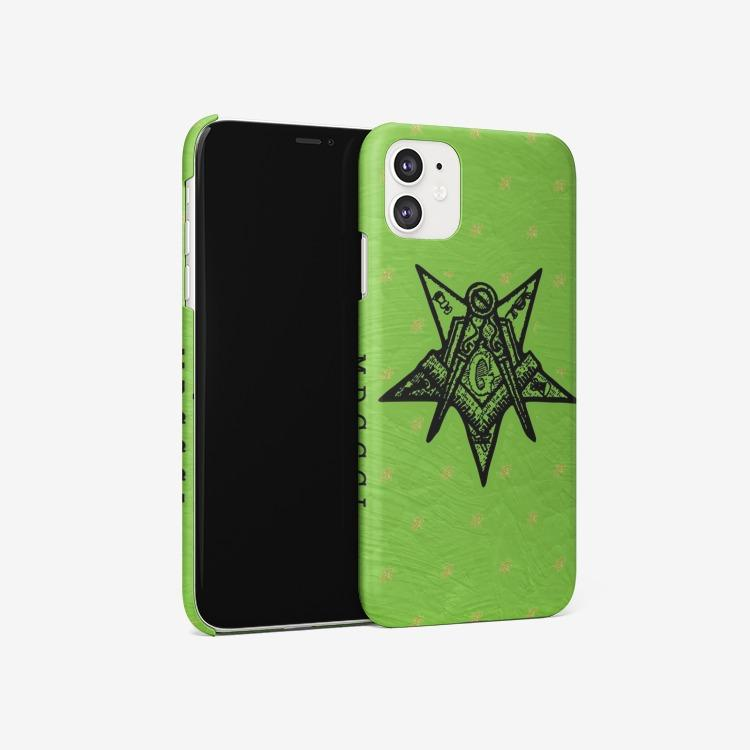 Order of the Eastern Star MDCCCL Iphone 11 Case