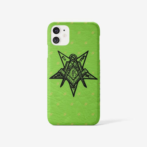 Image of Order of the Eastern Star MDCCCL Iphone 11 Case