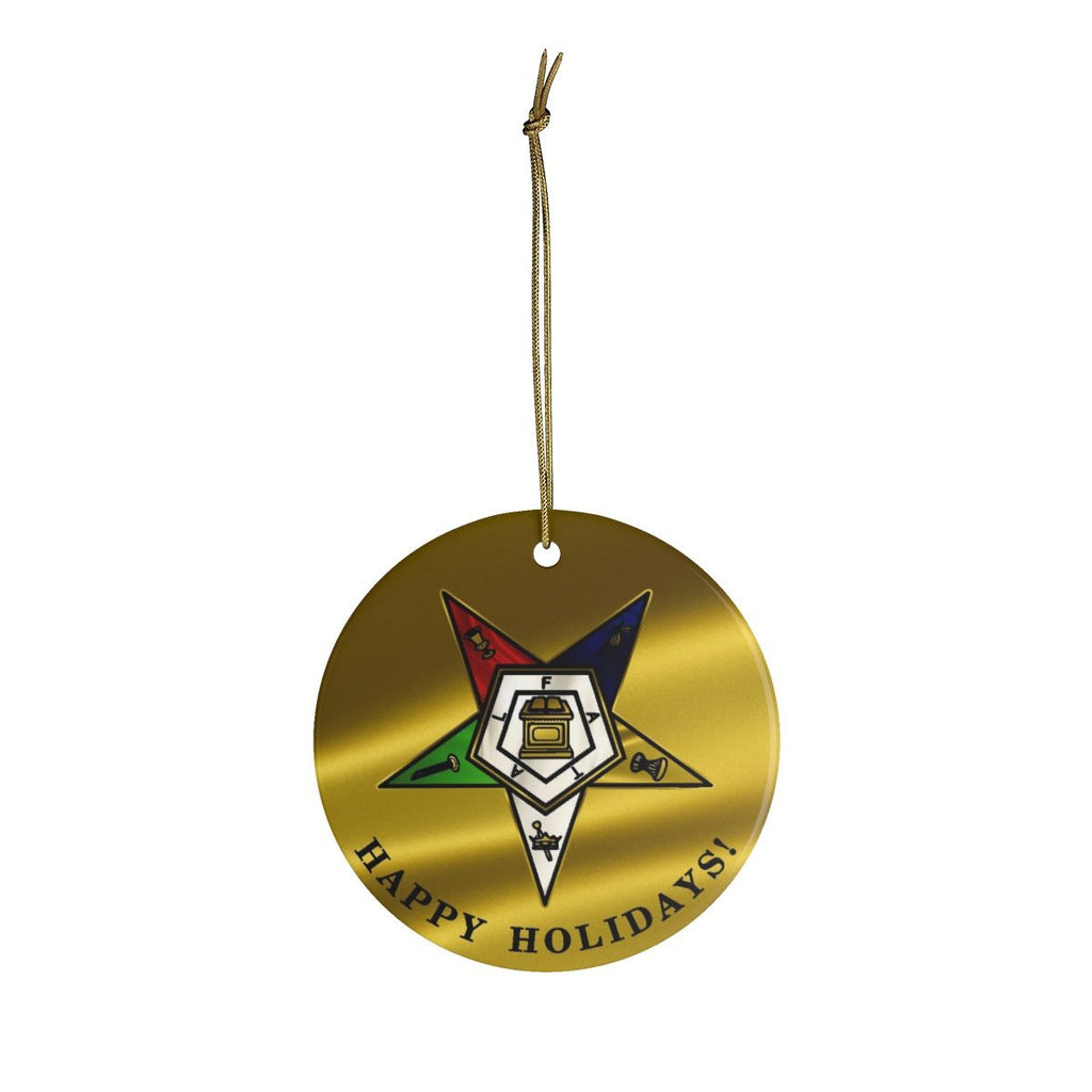 Order of the Eastern Star Circle Ornaments