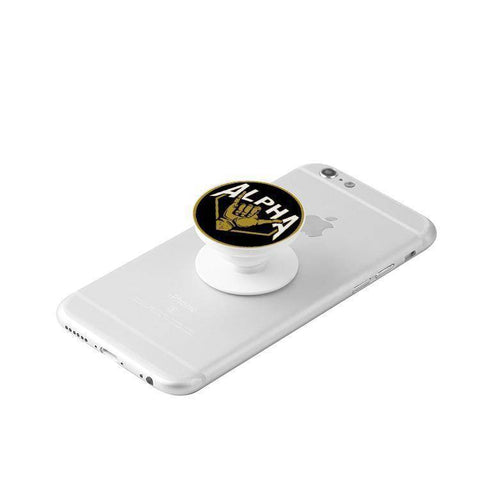 Image of Alpha Phi Alpha Cellphone Grip - Unique Greek Store