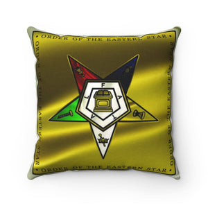 Order of the Eastern Star Square Pillow
