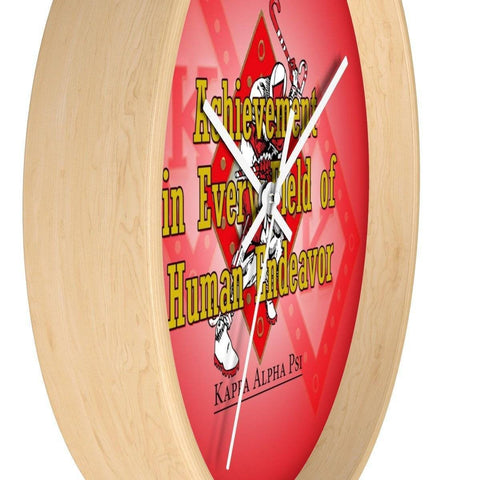 Kappa Alpha Psi Wall clock - Unique Greek Store