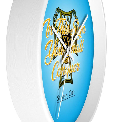 Sigma Chi Wall clock - Unique Greek Store