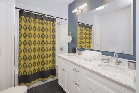 Image of Alpha Phi Alpha Shower Curtains - Unique Greek Store