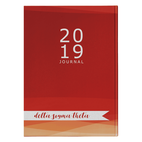 Image of Delta Sigma Theta 2019 Journal - Unique Greek Store