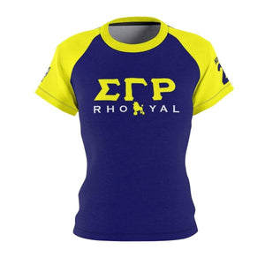 Sigma Gamma Rho RHOYAL AOP Tee - Unique Greek Store