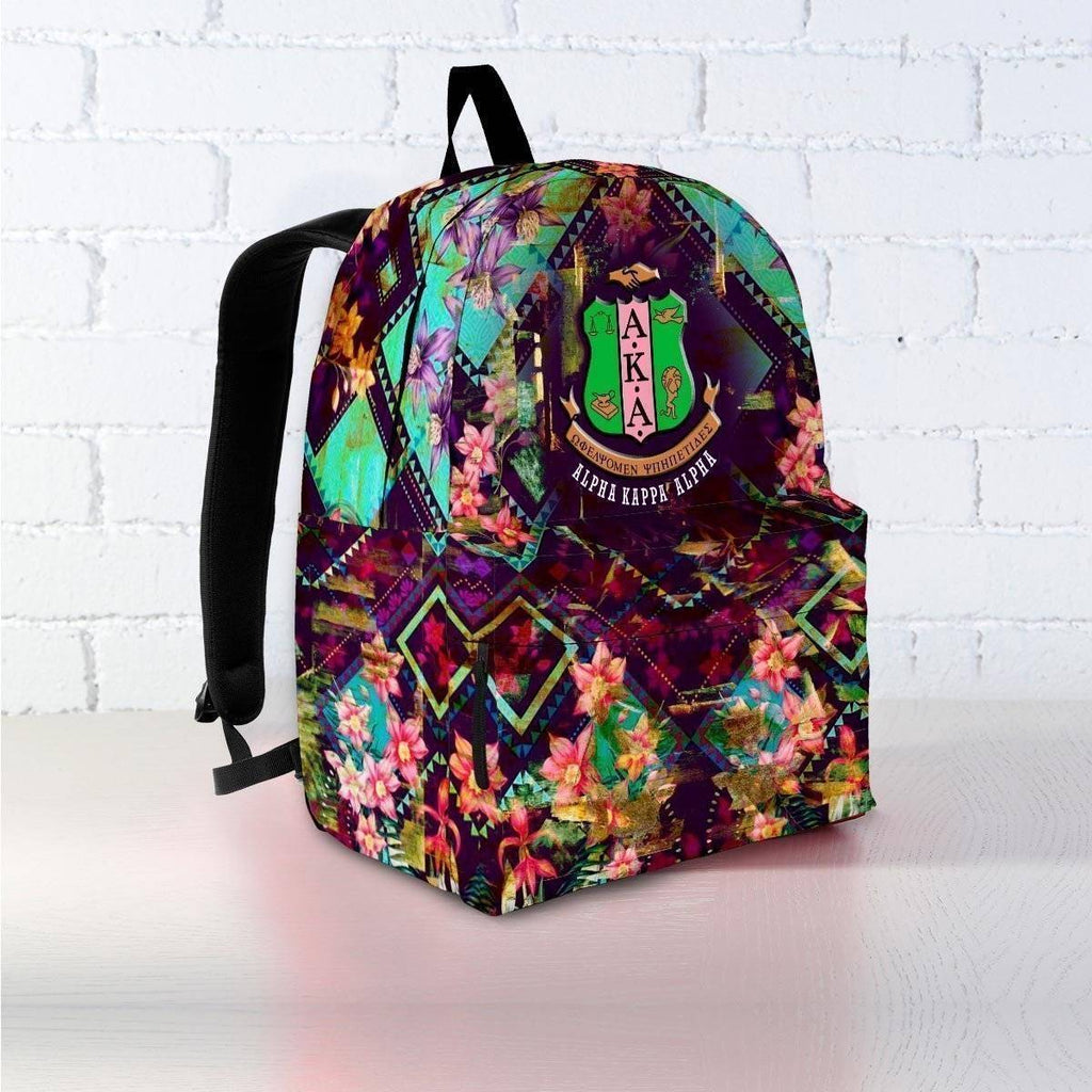 Alpha Kappa Alpha Backpack - Unique Greek Store
