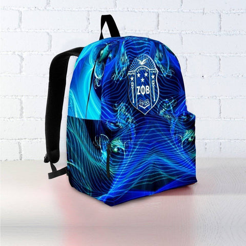 Zeta Phi Beta Backpack - Unique Greek Store