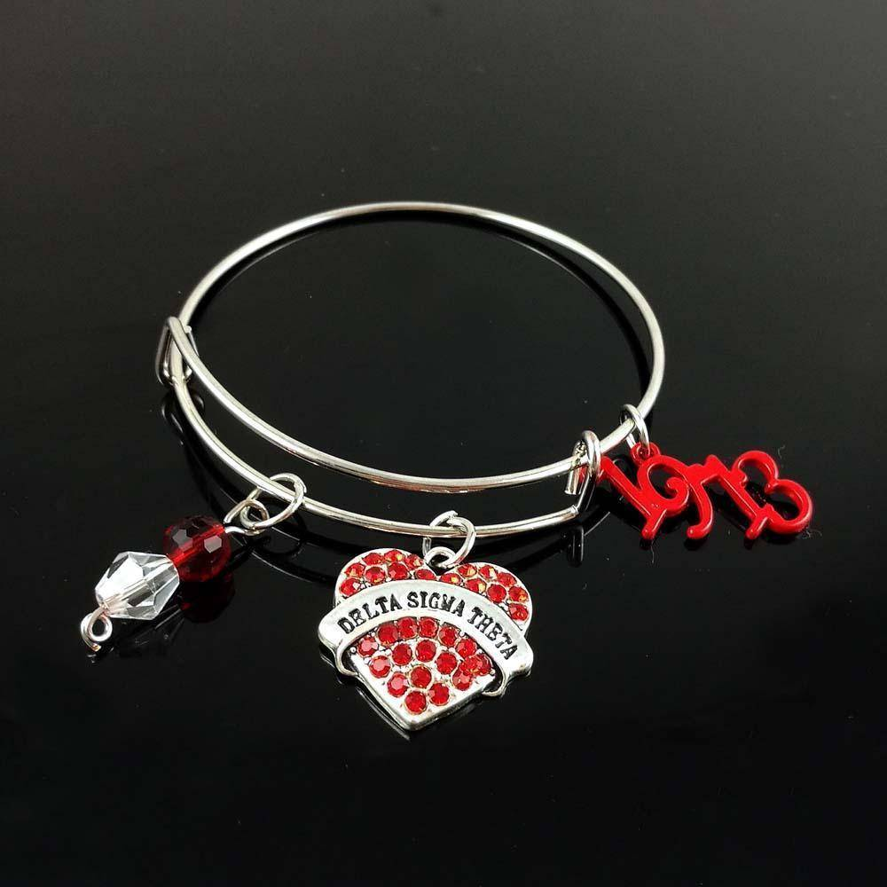 Delta Sigma Theta 1913 Bangle - Unique Greek Store