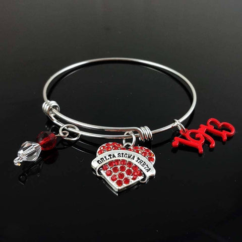 Image of Delta Sigma Theta 1913 Bangle - Unique Greek Store