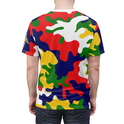 Image of Order of the Eastern Star Camouflage Tee