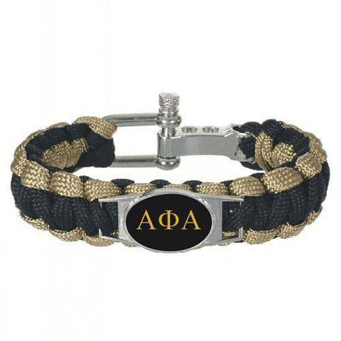 Alpha Phi Alpha Adjustable Bracelet - Unique Greek Store