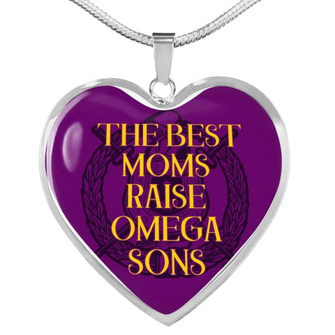Omega Psi Phi Mom Design Necklace
