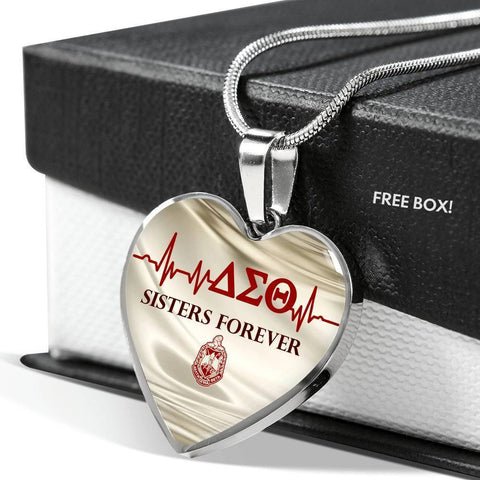 Image of Delta Sigma Theta Sisters Forever Necklace