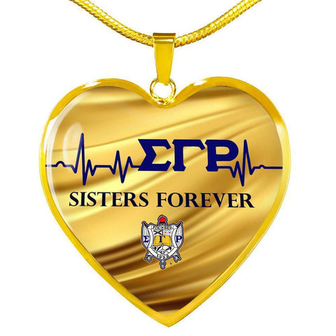 Image of Sigma Gamma Rho Sisters Forever Necklace