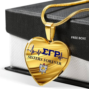 Sigma Gamma Rho Sisters Forever Necklace