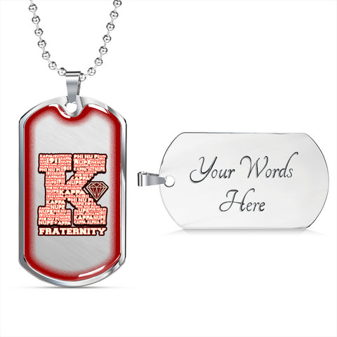 Image of Kappa Alpha Psi Fraternity Dogtag