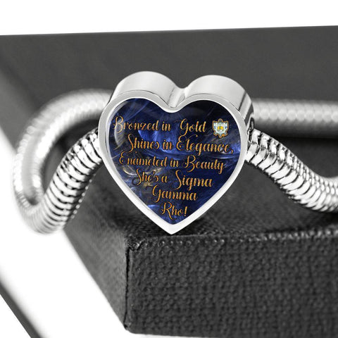 Image of Sigma Gamma Rho Luxury Steel Bracelet