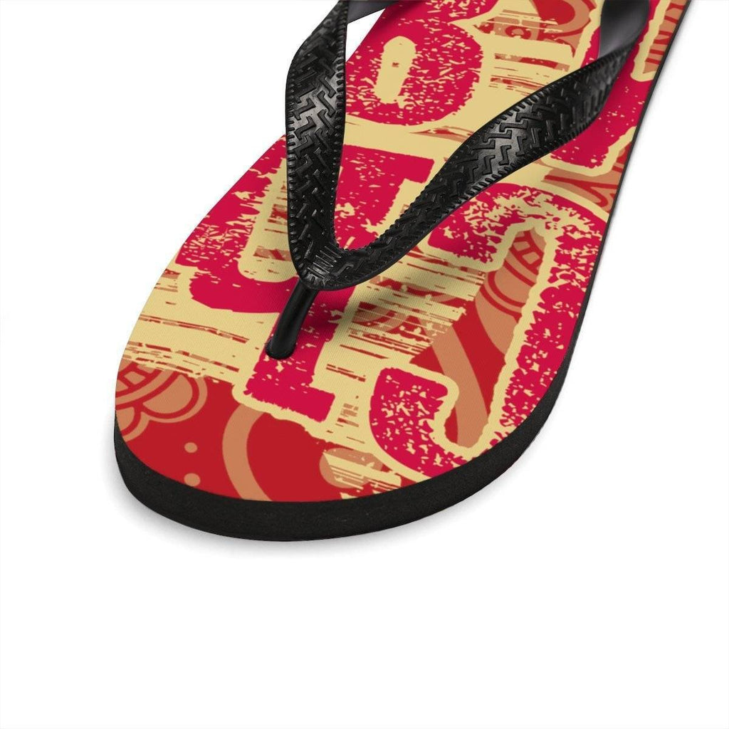 Chi Omega Flip Flops - Unique Greek Store