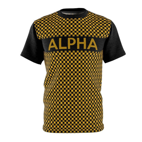 Alpha Phi Alpha Checkered Tee - Unique Greek Store