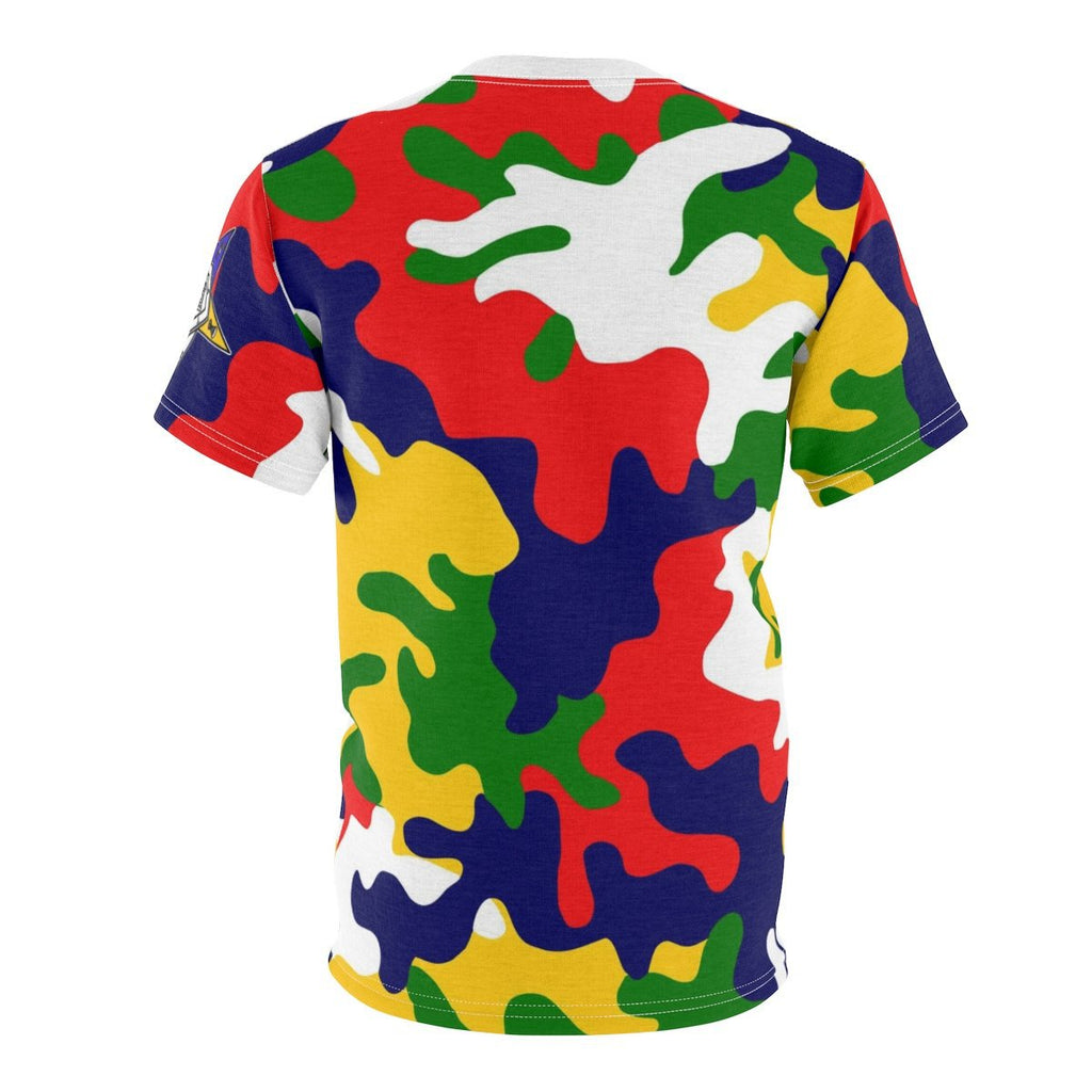 Order of the Eastern Star Camouflage Tee