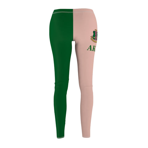 Image of Alpha Kappa Alpha Sorority Leggings