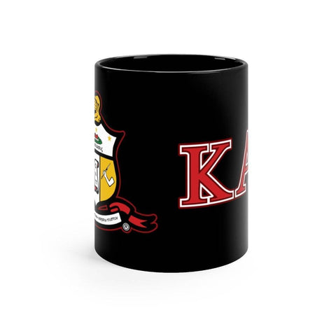Image of Kappa Alpha Psi Black Mugs - Unique Greek Store