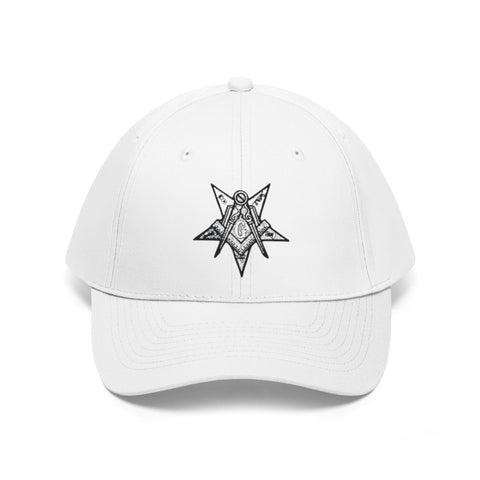 Image of Order of the Eastern Star Unisex Twill Hat