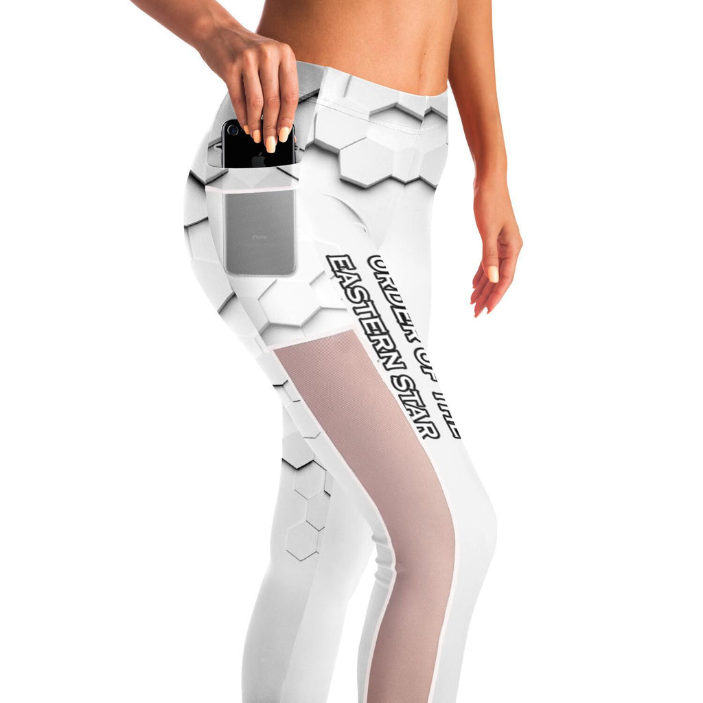 Order of the Eastern Star Mesh Pocket Leggings