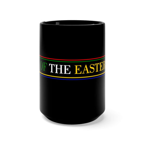 Image of Order of the Eastern Star Black Mug