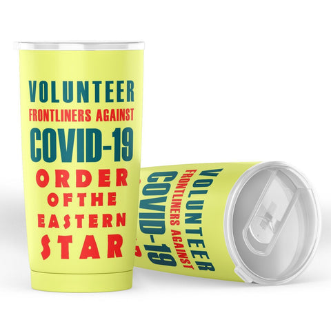 Image of Order of the Eastern Star Volunteer Frontliner Tumbler
