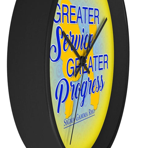 Sigma Gamma Rho Wall Clock - Unique Greek Store