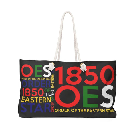 Image of Order of the Eastern Star 1850 Weekender Bag
