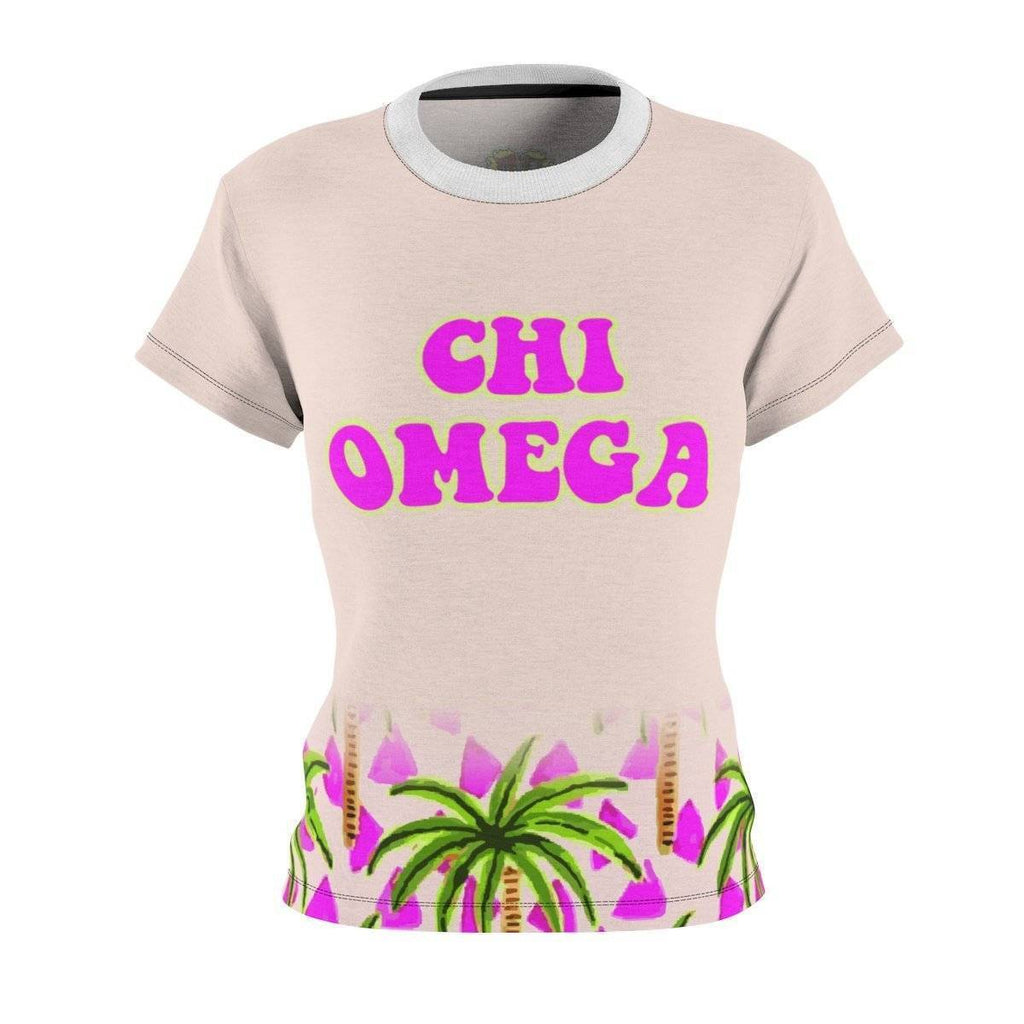 Chi Omega Tropical  Tees - Unique Greek Store