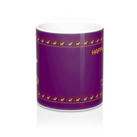 Omega Psi Phi Christmas Mugs - Unique Greek Store