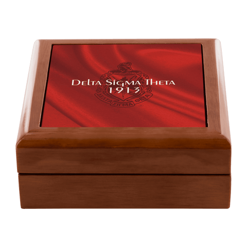 Delta Sigma Theta Jewelry Box