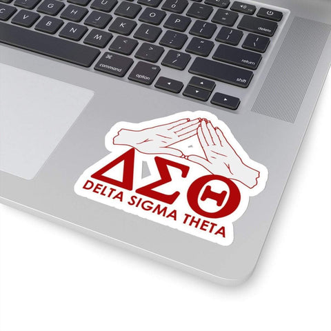 Image of Delta Sigma Theta Waterproof Stickers