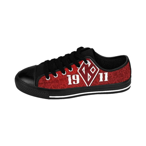 Kappa Alpha Psi Emblem Sneakers - Unique Greek Store