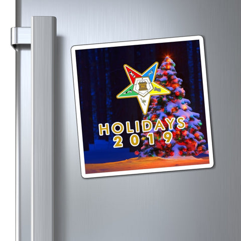 Image of Order of the Eastern Star 2019 Holiday Magnets