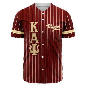 Kappa Alpha Psi Greek Letter Baseball Jersey