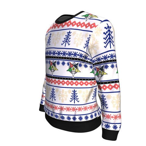 Image of Order of the Eastern Star Christmas Sweatshirt