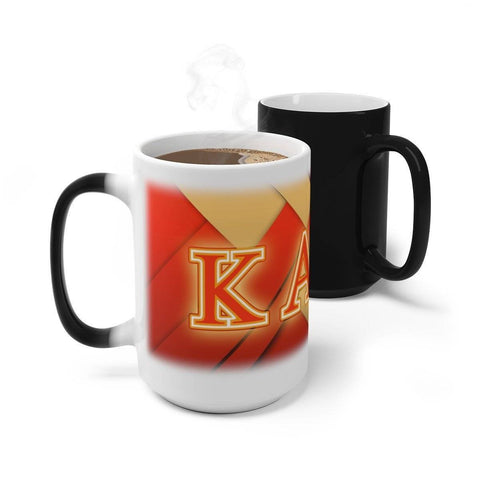 Image of Kappa Alpha Psi Changing Mug - Unique Greek Store