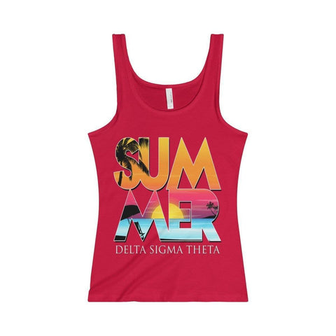 Delta Sigma Theta Summer Tank - Unique Greek Store
