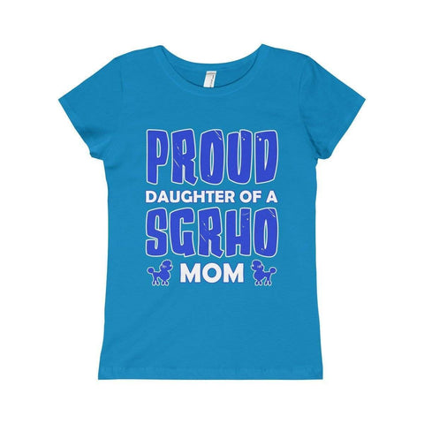 Sigma Gamma Rho Girls Princess Tee Proud Logo - Unique Greek Store