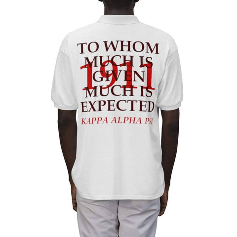Kappa Alpha Psi 1911 Polo Shirts - Unique Greek Store