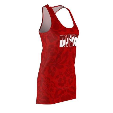 Delta Sigma Theta Women's Cut & Sew Racerback Dress - Unique Greek Store